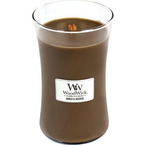WoodWick - Świeca Duża Amber & Incense 175h, 93041