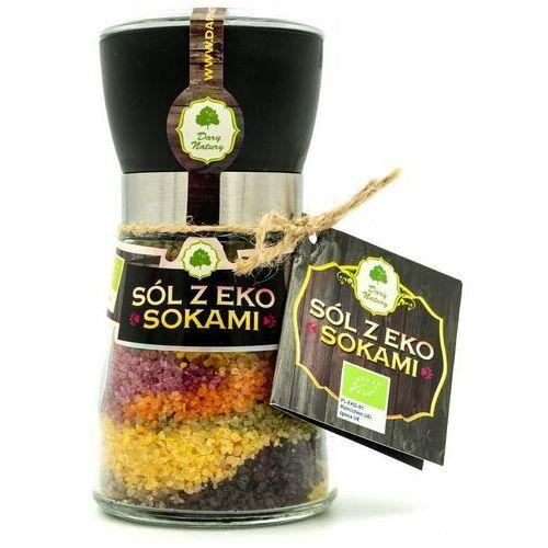 Sól z sokami z owoców i warzyw bio 200 g - dary natury marki Dary natury - przyprawy i zioła bio