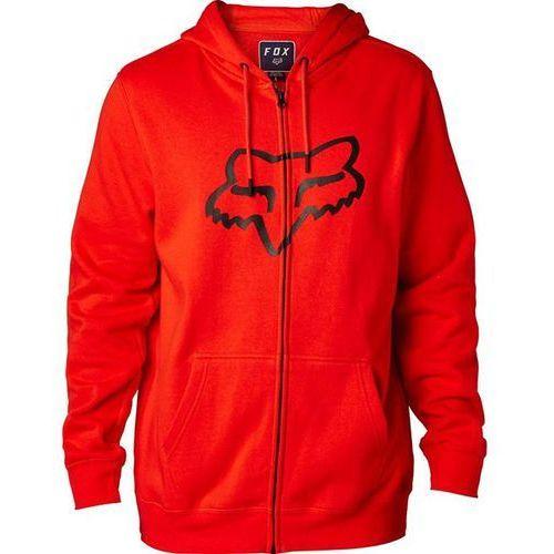bluza FOX - Legacy Foxhead Zip Fleece Flame Orange (122) rozmiar: 2X, kolor pomarańczowy