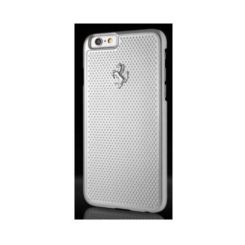 Futerał Ferrari Hardcase perforated Apple iPhone 6 / 6S srebrny, kolor Futerał