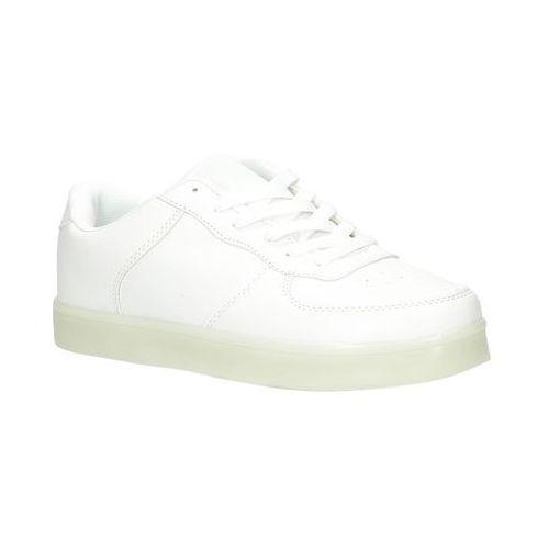 Sportowe świecące led Casu AB218-8, kolor biały