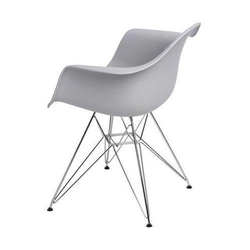 Krzesło p018 pp inspirowane dar - light grey marki D2.design