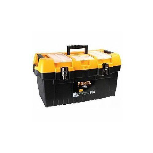 Perel skrzynka narzędziowa z metalowymi zatrzaskami - 564 x 310 x 310 mm (5410329430870)