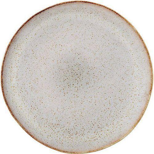 Talerz płaski sandrine jasnoszary 28 cm marki Bloomingville