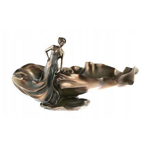 Secesyjna patera z tańczącą kobietą (an10014a4) marki Veronese