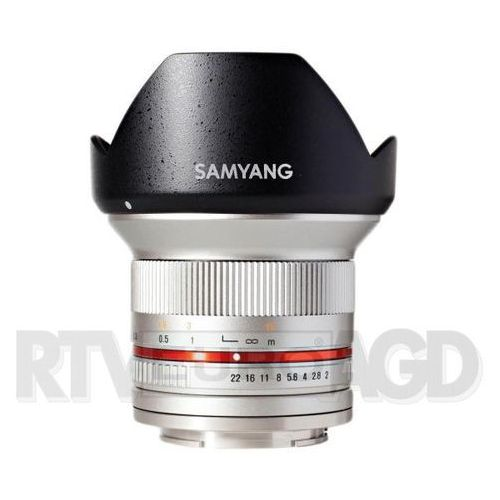 12mm f/2.0 ncs cs micro 4/3 (srebrny) - produkt w magazynie - szybka wysyłka! marki Samyang