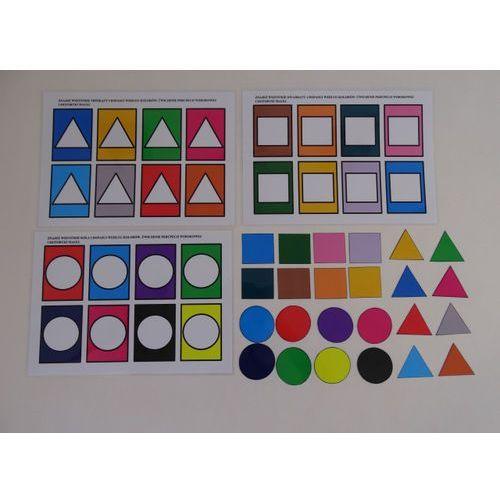 Zabawa z kolorami- poznajemy podstawowe figury