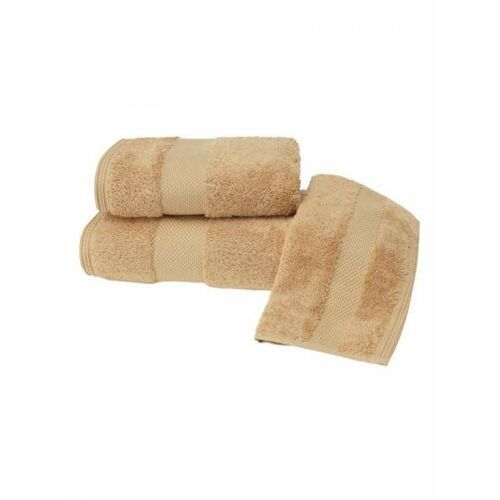 Soft cotton Zestaw podarunkowy małych ręczników deluxe, 3 szt mustard