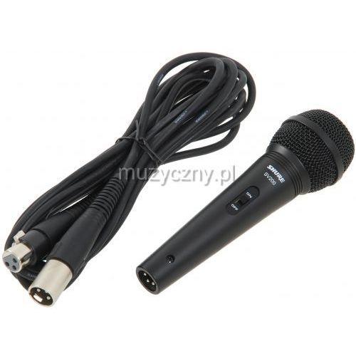 Shure SV 200 mikrofon dynamiczny