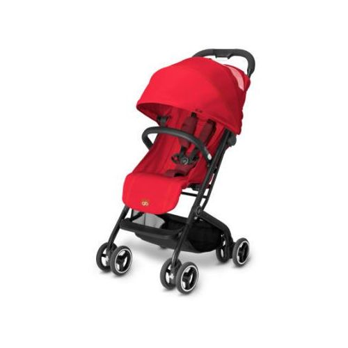 Gb gold wózek spacerowy qbit dragonfire red - red