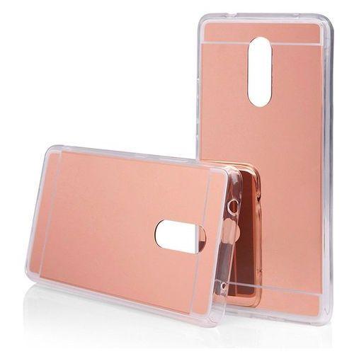 Slim Mirror Case Różowy | Etui dla Lenovo K6 Note - Różowy, kolor różowy