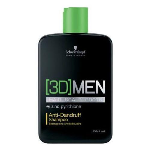 [3d] men anti-dandruff   szampon przeciwłupieżowy dla mężczyzn 250ml marki Schwarzkopf