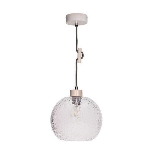 SPOT-LIGHT SVEA Lampa wisząca Dąb bielony/Antracyt 1XE27-60W 1357132, 1357132