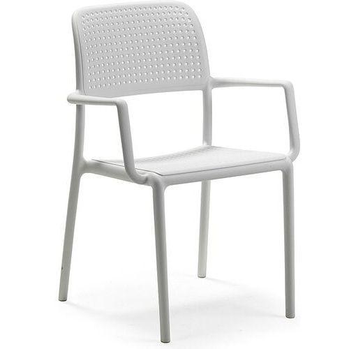Krzesło ogrodowe Bora białe, 40242.00.000