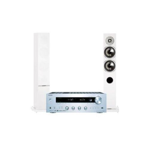 Onkyo Zestaw stereo tx-8250s + quadral rhodium 500 biały darmowy transport (2900881247229)