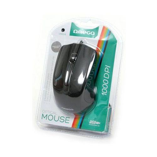 Mysz OMEGA OM-05R Czarny (5907595417860)