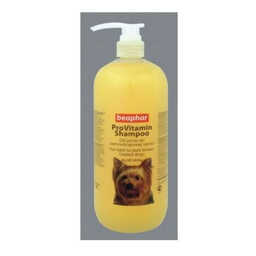 szampon aloe vera pro vitamin dla psów o sierści brązowej, marki Beaphar