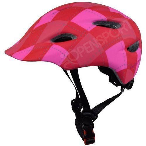 Kross Dziecięcy kask rowerowy infano xs 48-52cm czerwony / różowy
