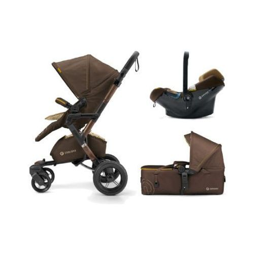 Concord wózek mobility-set walnut brown