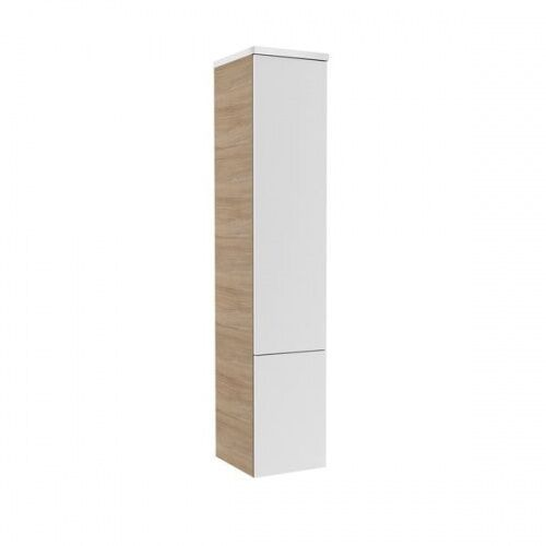 Ravak Rosa II szafka boczna 153 cm słupek cappuccino/biały X000000929, kolor biały