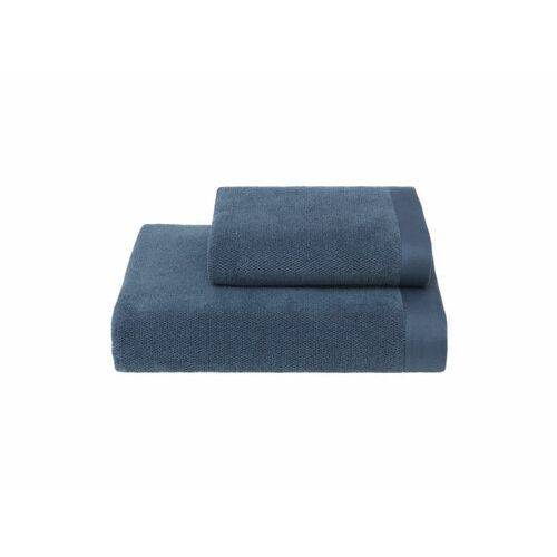 Podarunkowy zestaw ręczników lord niebieski marki Soft cotton