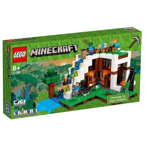LEGO Minecraft, Baza pod wodospadem, 21134