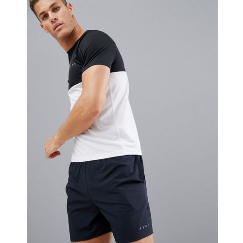 ASOS 4505 training shorts in mid length with quick dry in black - Black