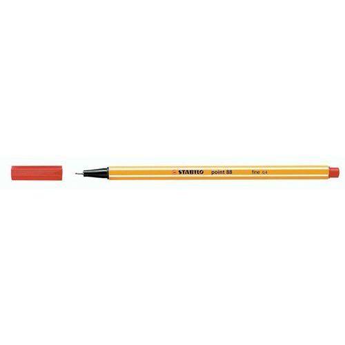 Cienkopis point czerwony 10 sztuk marki Stabilo