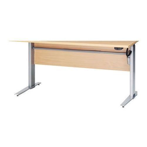PRIMA podstawa do biurka z elektryczną regulacją wysokości blatu - szary, 8044803