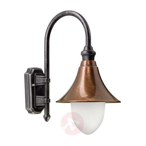 Lcd lengerich lampa ścienna miedź, 1-punktowy - klasyczny/rustykalny - obszar zewnętrzny - lengerich - czas dostawy: od 4-8 dni roboczych (8033239350310)