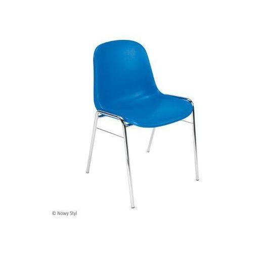 Krzesło beta chrome - powyżej 10 sztuk wysyłka gratis! marki Nowy styl