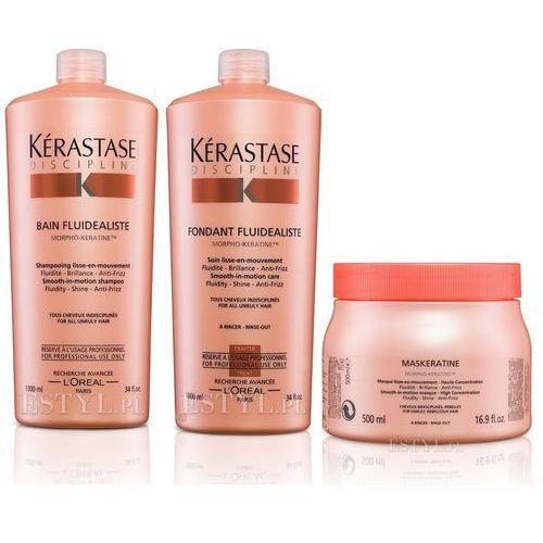 Kerastase Fluidealiste Zestaw dyscyplinujący włosy | szampon 1000ml + odżywka 1000ml + maska 500ml (9753197531634)