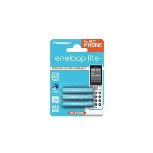 Eneloop Akumulator 1x3 panasonic eneloop lite dect micro aaa 550 mah bk-4lcce/3de - bk-4lcce/3de darmowy odbiór w 21 miastach! (5410853058793)