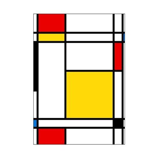 Kanwa mondrian 70 x 100 cm marki Art canvas