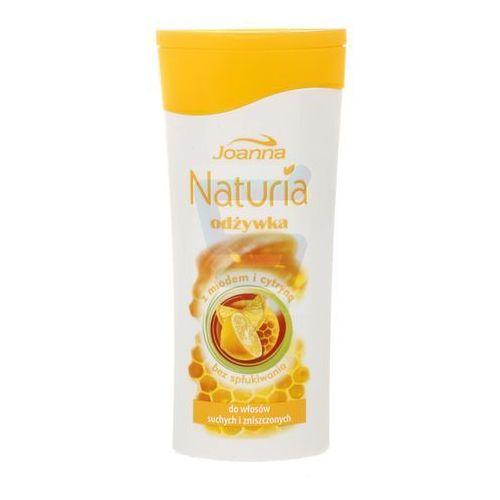 Joanna  naturia odżywka do włosów włosy suche i zniszczone miód i cytryna 200 ml (5901018004088)