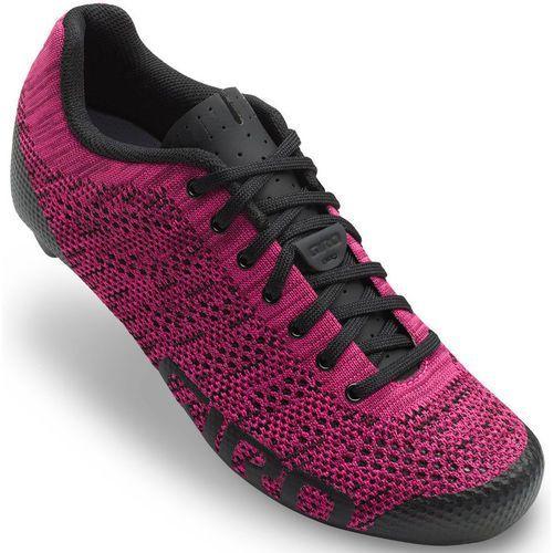 Giro empire w e70 knit buty kobiety fioletowy 40,5 2018 buty szosowe zatrzaskowe (0768686089237)