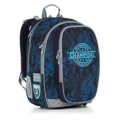 Topgal Plecak szkolny chi 881 d - blue
