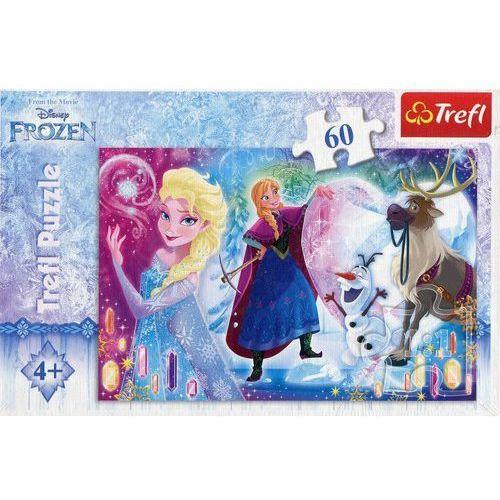 Puzzle 60 Kraina Lodu Niespodzianka dla Elisy, 1_630950