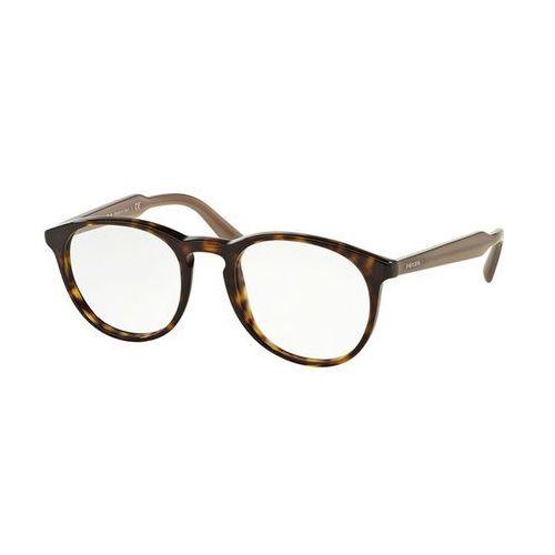 Prada Okulary korekcyjne pr19svf asian fit 2au1o1