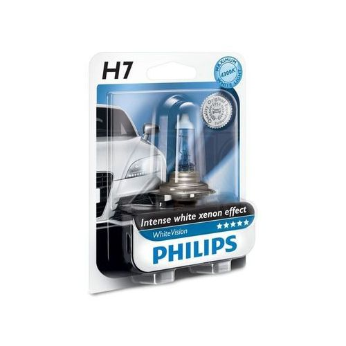 Philips Żarówka samochodowa whitevision 12972whvb1 h7 px26d/55w/12v (8727900371604)
