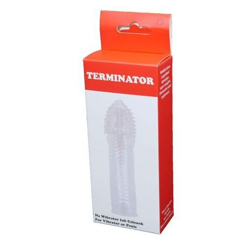 Nakładka żelowa z wypustkami i prążkami Terminator 000302