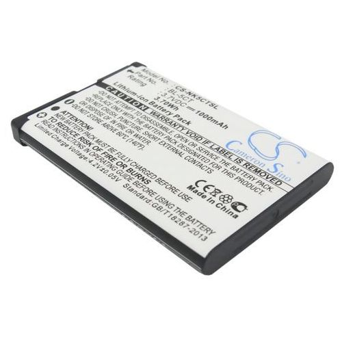 Nokia c3-01 / bl-5ct 1000mah 3.70wh li-ion 3.7v () marki Cameron sino