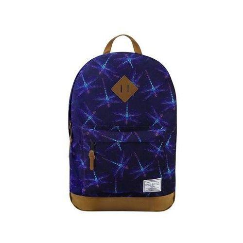 Plecak Ważki granatowy, kolor niebieski
