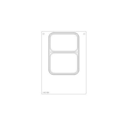 Kaseta do maszyny pakujacej df10/20 | 187x137mm marki Duni