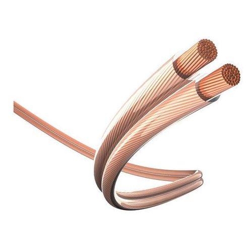 Inakustik Przewód głośnikowy 2 x 0.75 mm² przezroczysty  003020 400 m (4001985424696)