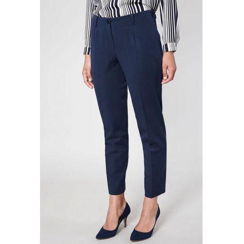 Spodnie damski model funza 9995 navy marki Click fashion