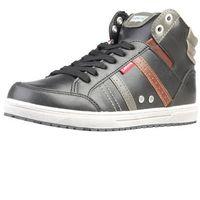 Męskie buty levi's 224180 1794 czarne marki Levis