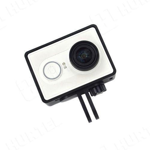 Ochronna obudowa ramka do kamery Xiaomi Yi Actio Camera czarna - Czarny z kategorii Pozostałe sport i hobby