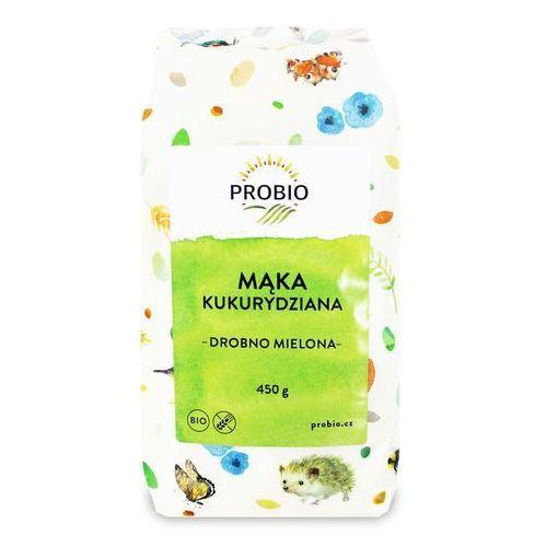 Mąka kukurydziana bezglutenowa bio 450 g - marki Probio