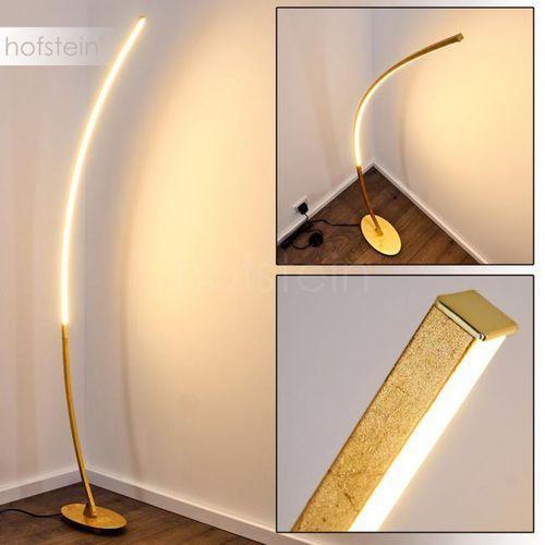 Nagu lampa stojąca led złoty, 1-punktowy - design - obszar wewnętrzny - nagu - czas dostawy: od 3-6 dni roboczych marki Hofstein